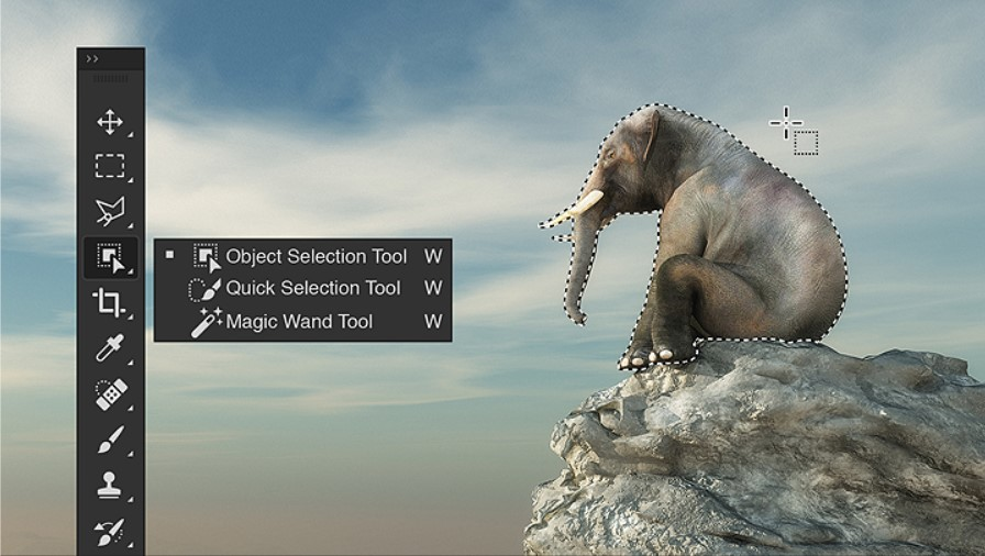 New object selection tool & features in Adobe Photoshop 2020