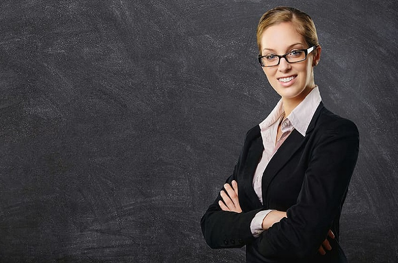 blackboard-business-woman-professional-suit